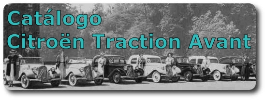 Catálogo Citroën Traction Avant